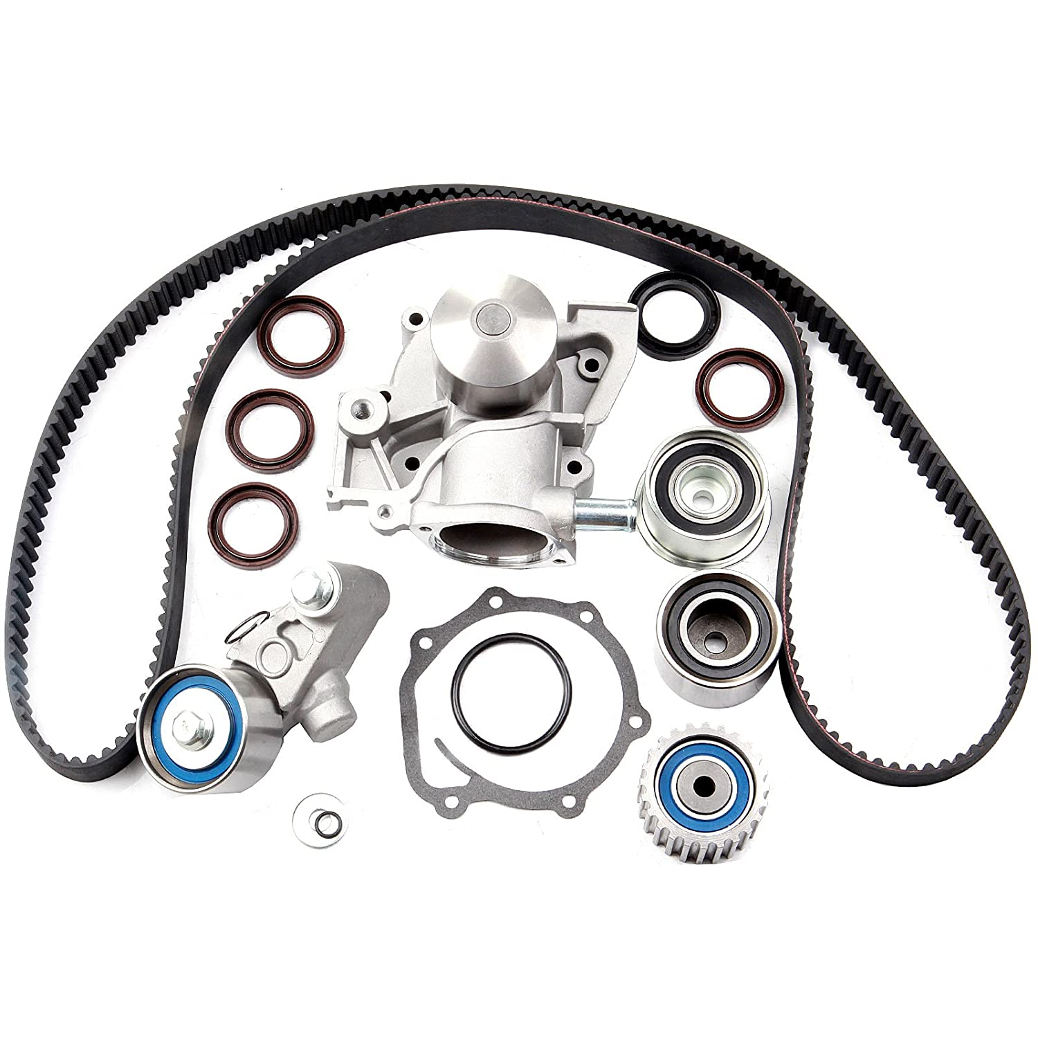 Timing Belt Water Pump Kit Eccpp For Tbk307 Wp9008 2000 Subaru Outback Spark Plug 2006 Legacy Baja 25l Ej25 Automotive
