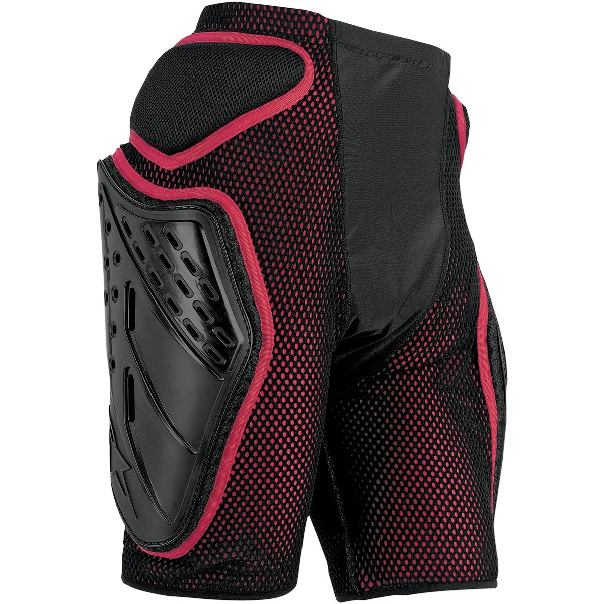 Alpinestars Bionic Freeride Shorts (Black/Red, X-Large)