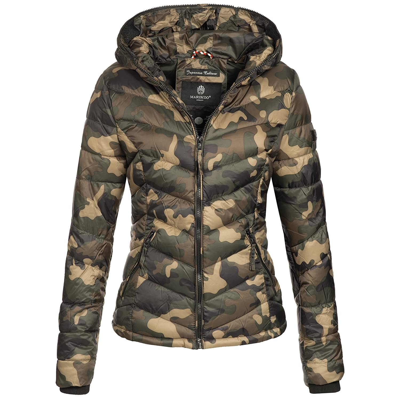 Marikoo Damen Jacke Steppjacke Übergangsjacke Winter gesteppt Kuala XS-XXL  16-Farben  Amazon.de  Bekleidung 3fe2bf2e98