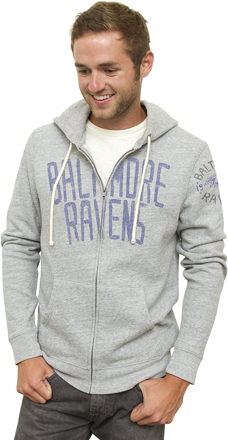 NFL Baltimore Ravens Sunday Hoodie, Heather Grey, XX-Large