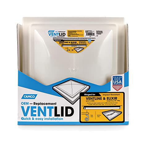 Camco Mfg 40185 Vent Lid Ventline New Elixir Rv Equipment Covers Oddexperts Com