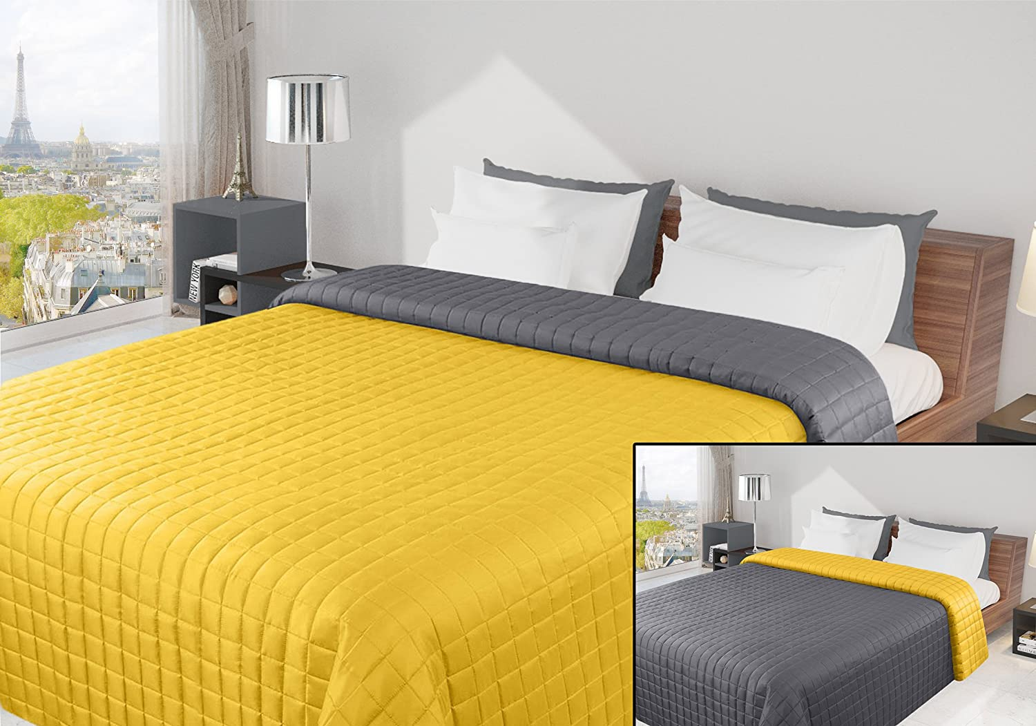 hay tagesdecke excellent kalason with hay tagesdecke colour block cushion and bedspread from. Black Bedroom Furniture Sets. Home Design Ideas