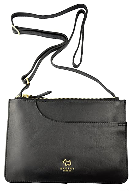9f49d6592804d Radley Pockets Small Ziptop Cross Body Bag AW16 - SMALL, BLACK: Amazon.co.uk:  Shoes & Bags