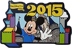 Disney Parks 2015 Mickey Mouse Refrigerator Magnet