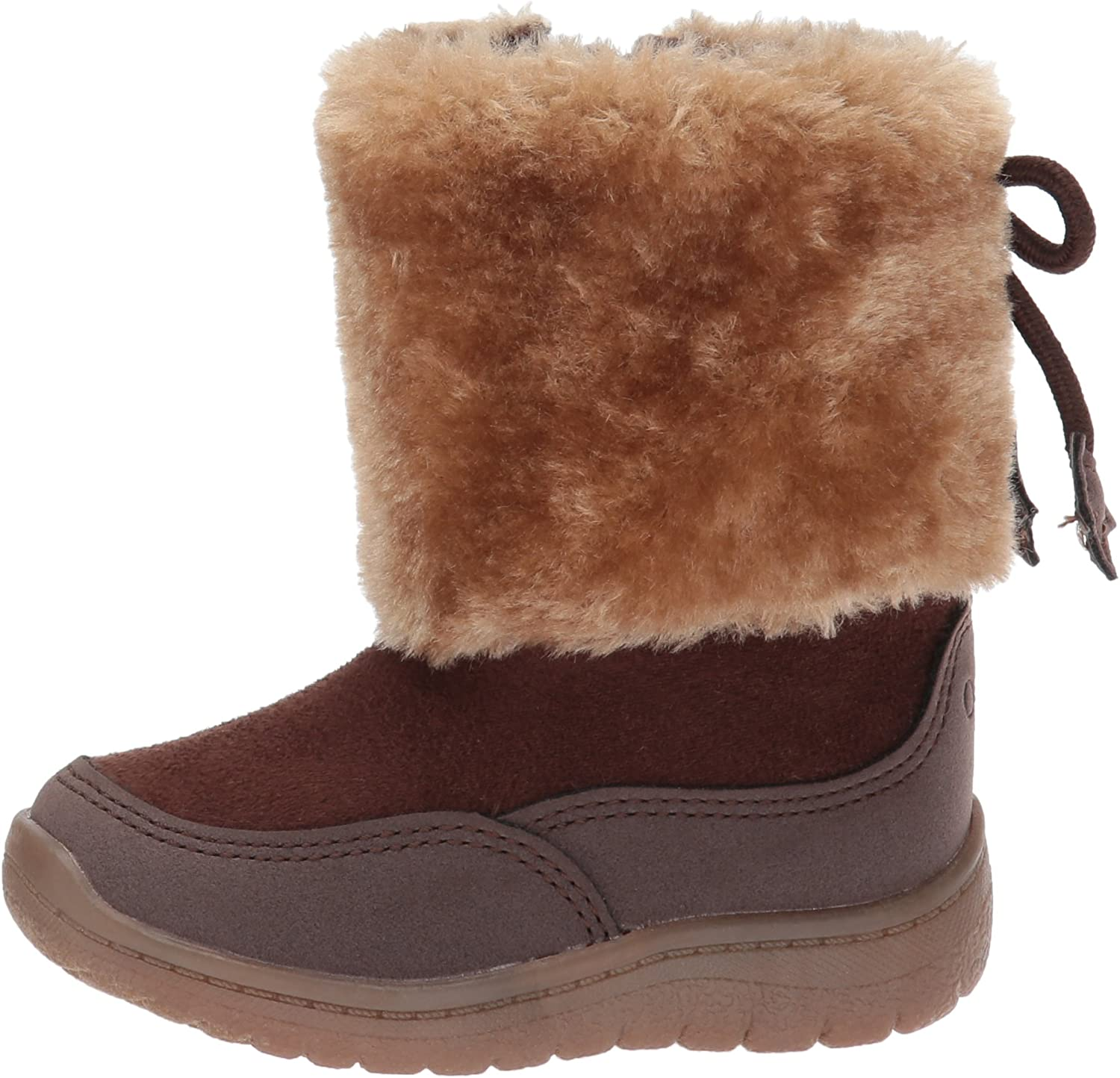 OshKosh BGosh Kids Sloane Girls Sherpa Boot Fashion