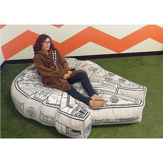Excellent Robe Factory Star Wars Millennium Falcon Bean Bag Chair Cover Uwap Interior Chair Design Uwaporg