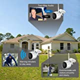 ZOSI 1080p FHD Wireless Cameras for Home Security