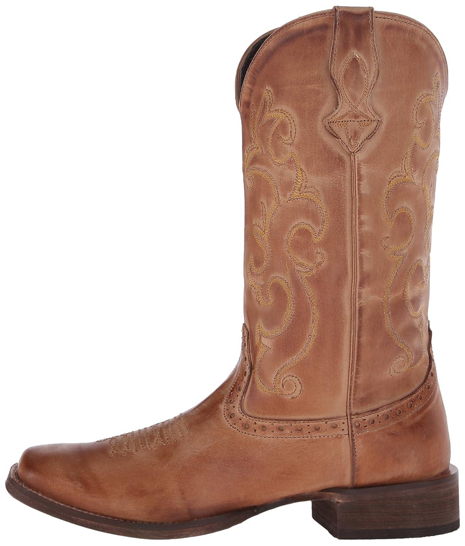 Roper Women's Classic Cowgirl Western Boot B00U9Y2WZ8 5 B(M) US|Tan