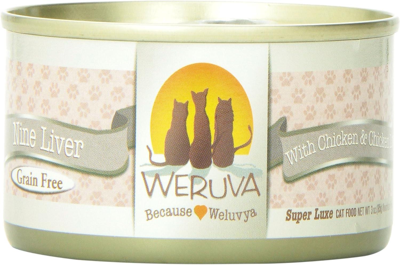 Weruva 878408001147 Nine Liver Canned Cat Food (24 Pack)