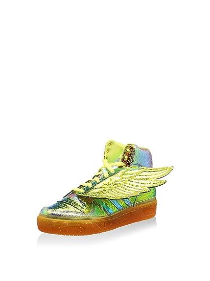 89b6f79fc7cd adidas Originals Men s Js Foil Wing Metallic Gold