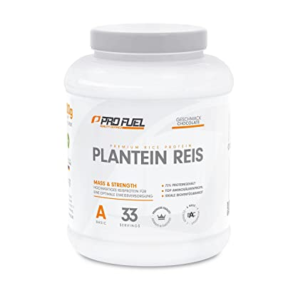 profuel Plan calcárea Arroz & # x2502; una alternativa a de alta calidad proteína Whey