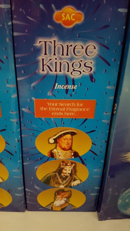 Incienso 3 Reyes - Three Kings 6 x 20sticks