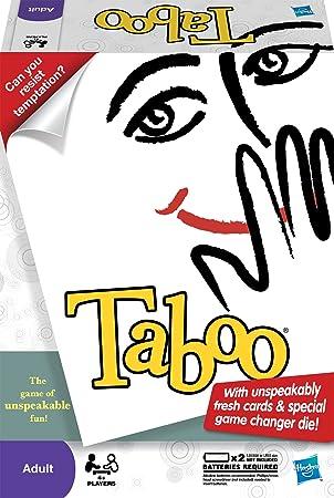 Hasbro Taboo - Juego de Mesa (en inglés): Hasbro Taboo Board Game: Amazon.es: Juguetes y juegos