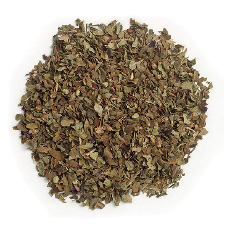 Frontier Co-op Basil Leaf, Sweet, Cut & Sifted, Certified Organic, Kosher, Non-irradiated | 1 lb. Bulk Bag | Ocimum basilicum