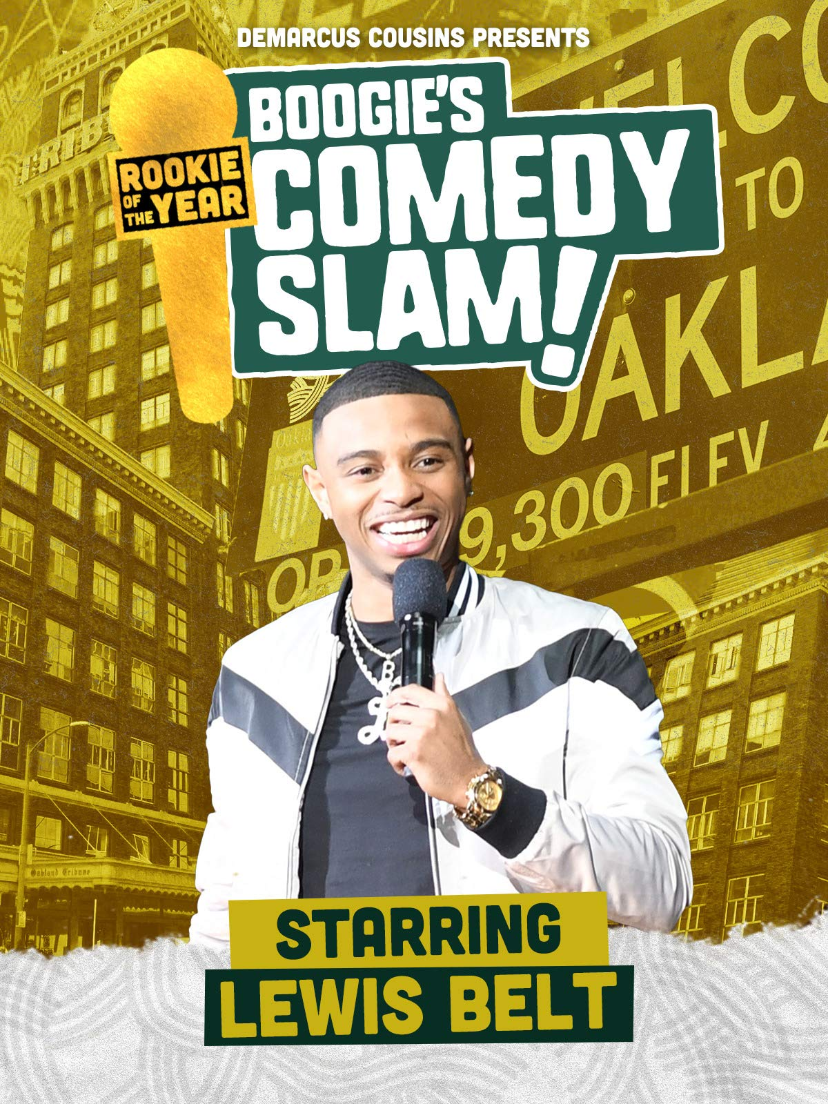 Boogie's Comedy Slam Presents Rookie Of The Year: Lewis Belt on Amazon Prime Video UK