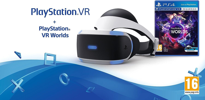 Sony - PlayStation VR + VR Worlds: Sony: Amazon.es: Videojuegos