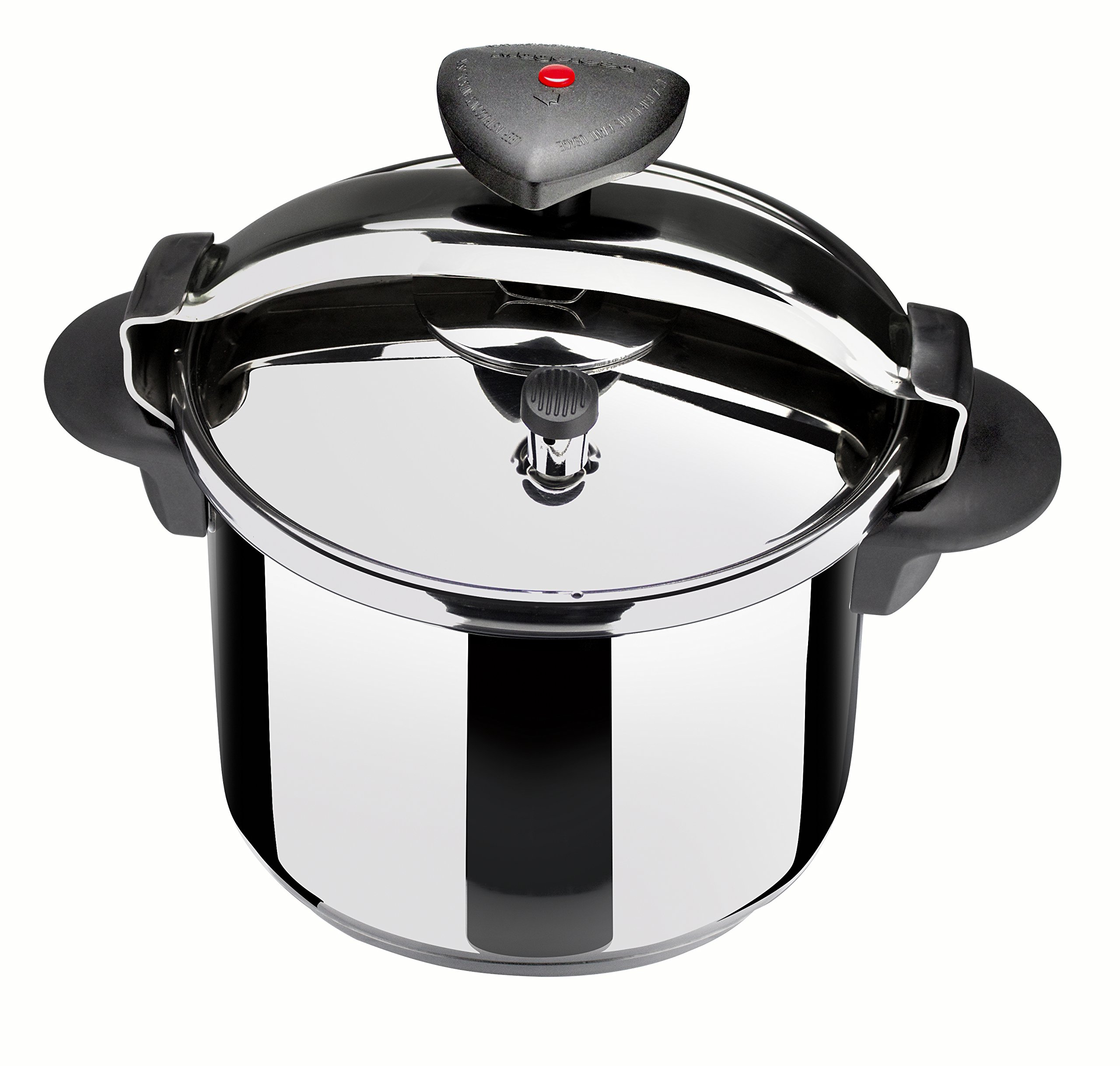 Magefesa 01OPSTACO08 Star R Stainless Steel F.P.C. Pressure Cooker, 8-Quart