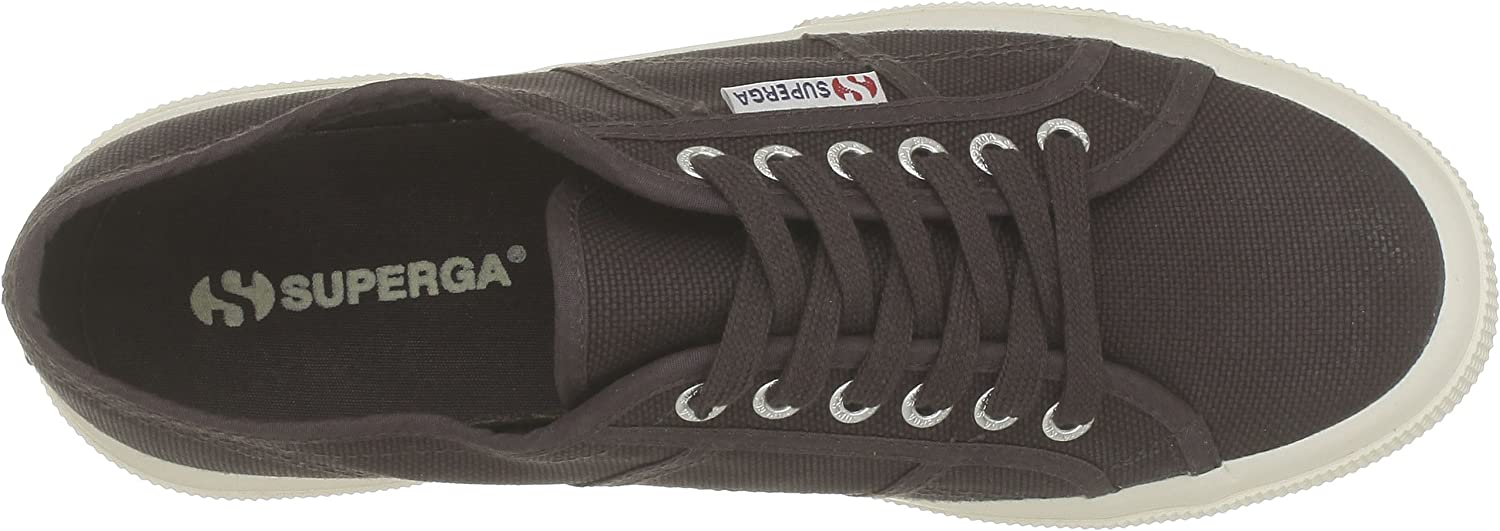 Superga 2750 Cotu Classic, Baskets Mixte Adulte Marron K51 Dark Chocolate