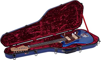 Crossrock Deluxe - Funda rígida de madera para guitarras eléctricas Jazzmaster/Jaguar, Tweed (CRW600JMTW): Amazon.es: Instrumentos musicales