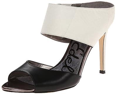 Sam Edelman Scotti, Women Wedge Heels Sandals, Black (Black Vaquero), 4