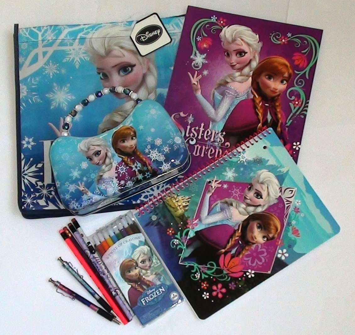 Disney Frozen Elsa and Anna Stationery Gift Set, Ideal for All Frozen Fans!