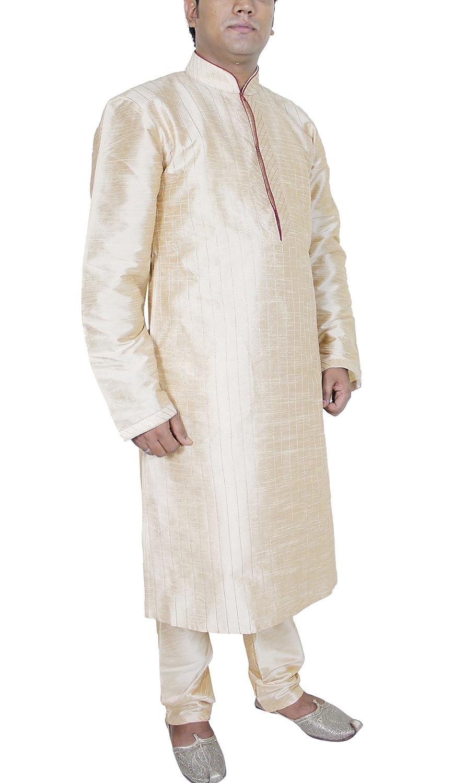 RoyaltyLane - Traje de boda - Túnica - Básico - cuello mandarín - Manga Larga - 85 DEN - Hombre Beige beige X-Large: Amazon.es: Ropa y accesorios
