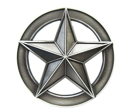 4489749590dca2 Gürtelschnalle Stern Star 3D Optik für Wechselgürtel Gürtel Schnalle Buckle  Modell 227 - Schnalle123