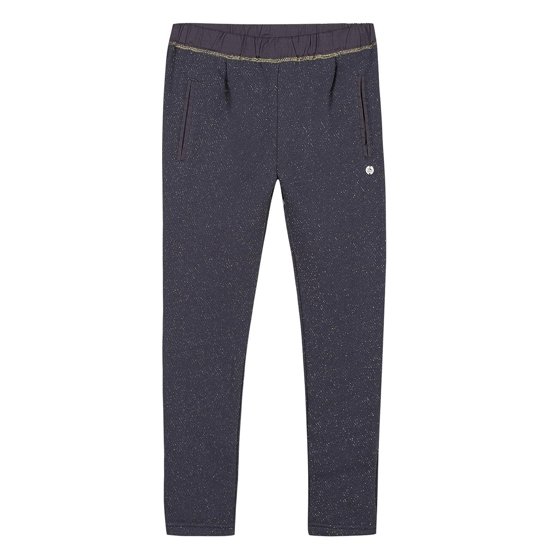 3 Pommes Jogging, Pantaloni Sportivi Bambina (Bleu Grise) 5-6 Anni 3K23044
