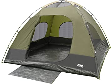 World Famous Sports 5-Person C&ing Tent  sc 1 st  Amazon.com & Amazon.com : World Famous Sports 5-Person Camping Tent : Camping ...
