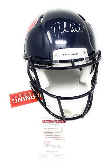 fae12187c2e Deshaun Watson Houston Texans Signed Autograph Full Size Speed Authentic On  Field Proline Helmet GTSM Watson