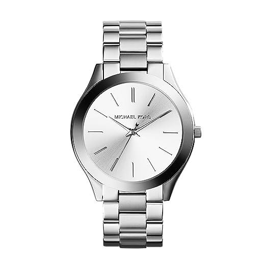 Amazon.com: Michael Kors, Reloj pulsera delgado de pasarela ...
