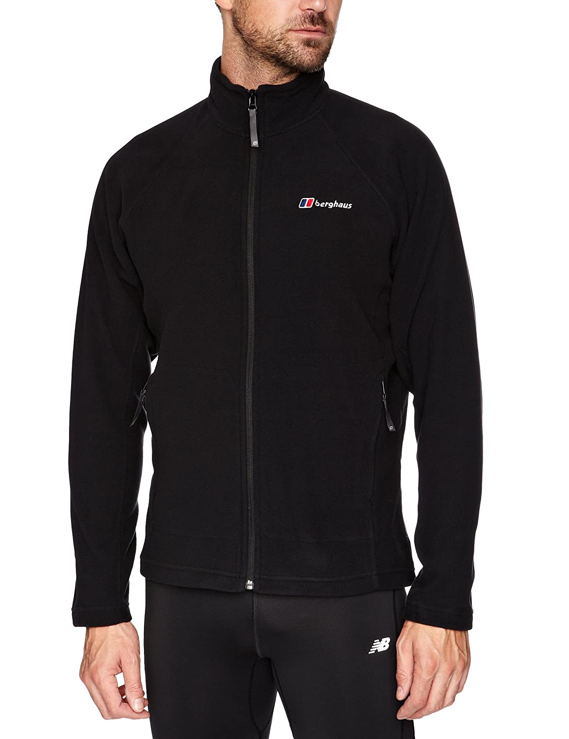 Product Features This midweight fleece with high collar, full-zip front, and side seam.