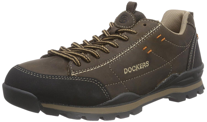 TALLA 43 EU. Dockers 35SY011, Zapatos de Cordones Brogue para Hombre