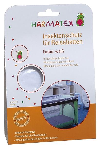 Harmatex 700506 - Mosquitera para cama de viaje, color blanco