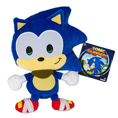 Sonic SONICBOOM Emoji Plush, Happy, Blue: Toys & Games