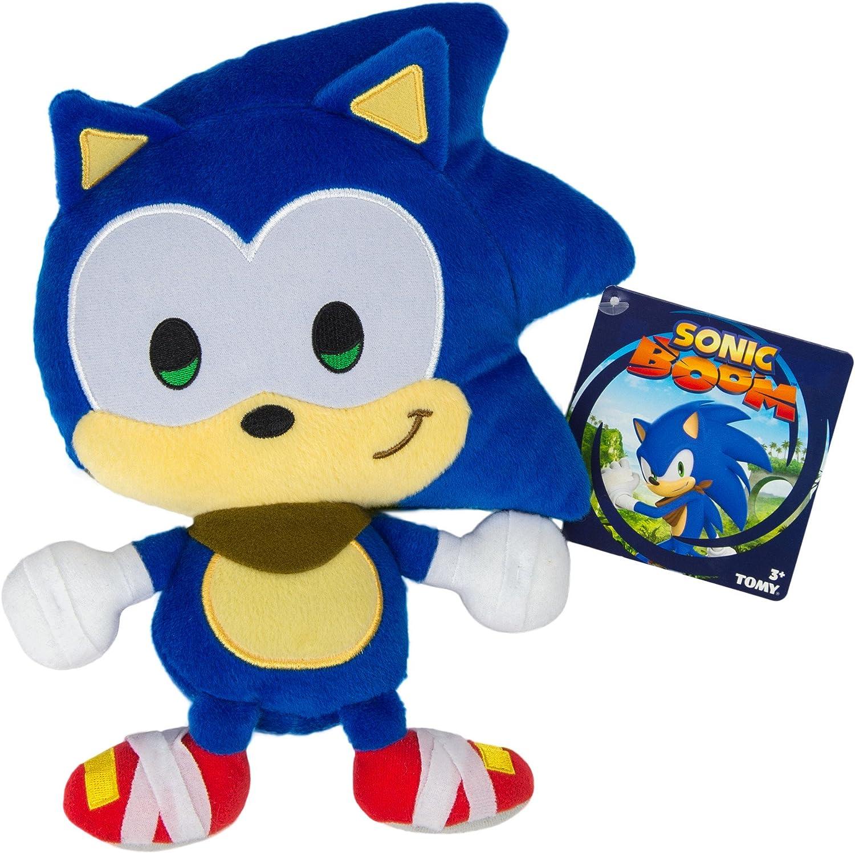 Amazon Com Sonic Sonicboom Emoji Plush Happy Blue Toys Games
