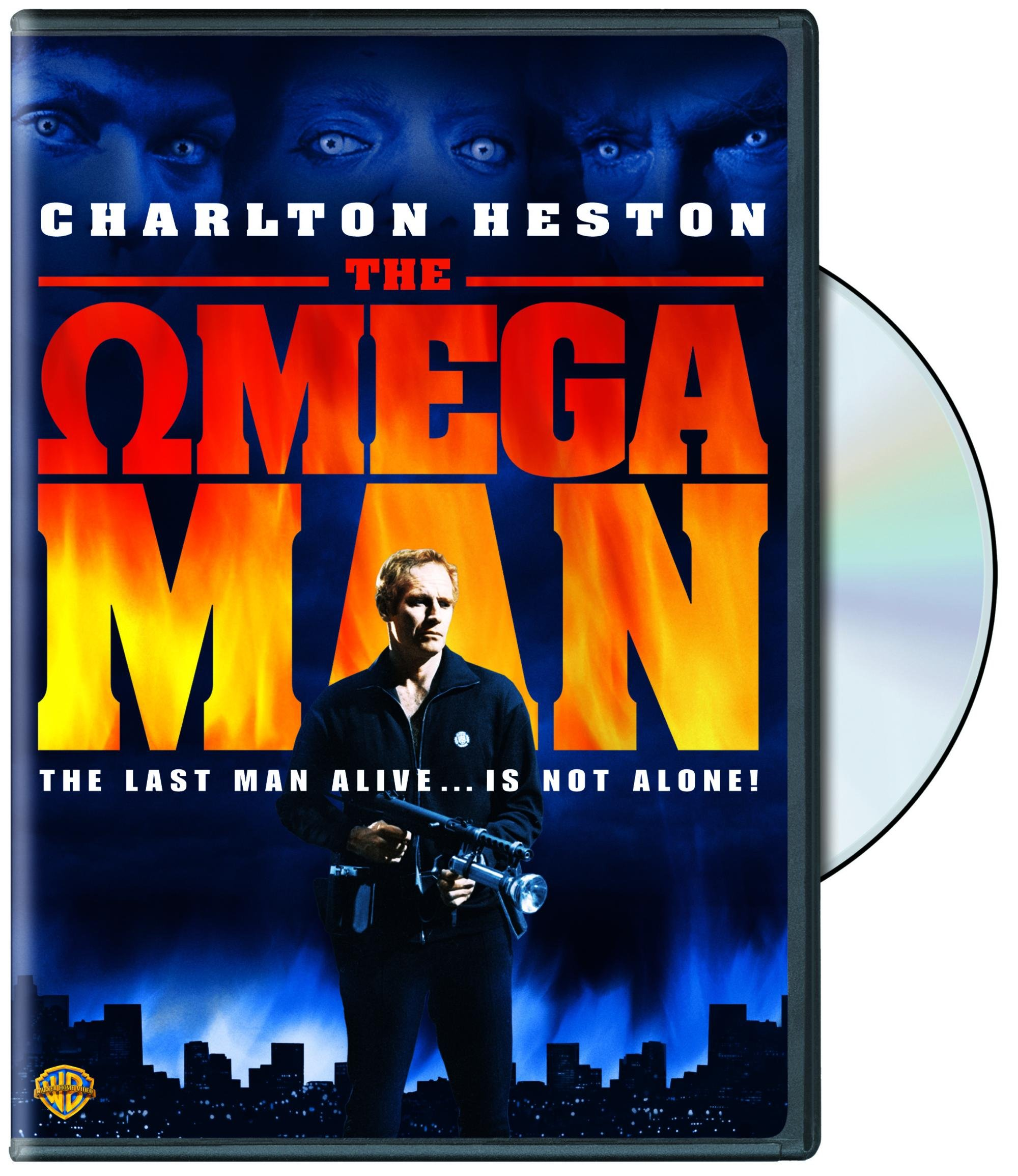 DVD : The Omega Man (, Dubbed, Amaray Case, Repackaged, Widescreen)