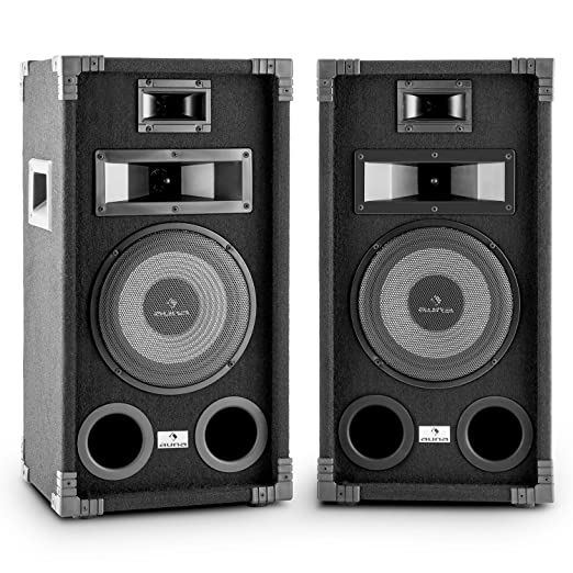 7 opinioni per Auna PA-800 Coppia di altoparlanti 2 casse audio passive (400W, woofer 20 cm, 3