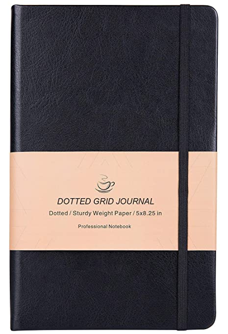 Amazon.com: Cuaderno Bullet Journal A5 negro: Office Products