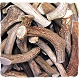 WhiteTail Naturals Premium Deer Antlers for Dogs (1 lb. Pack) All Natural Antler Chews | A Grade, Crafted in USA Horn Dog Bone Chew for Medium and Big Breeds | Power Chewer