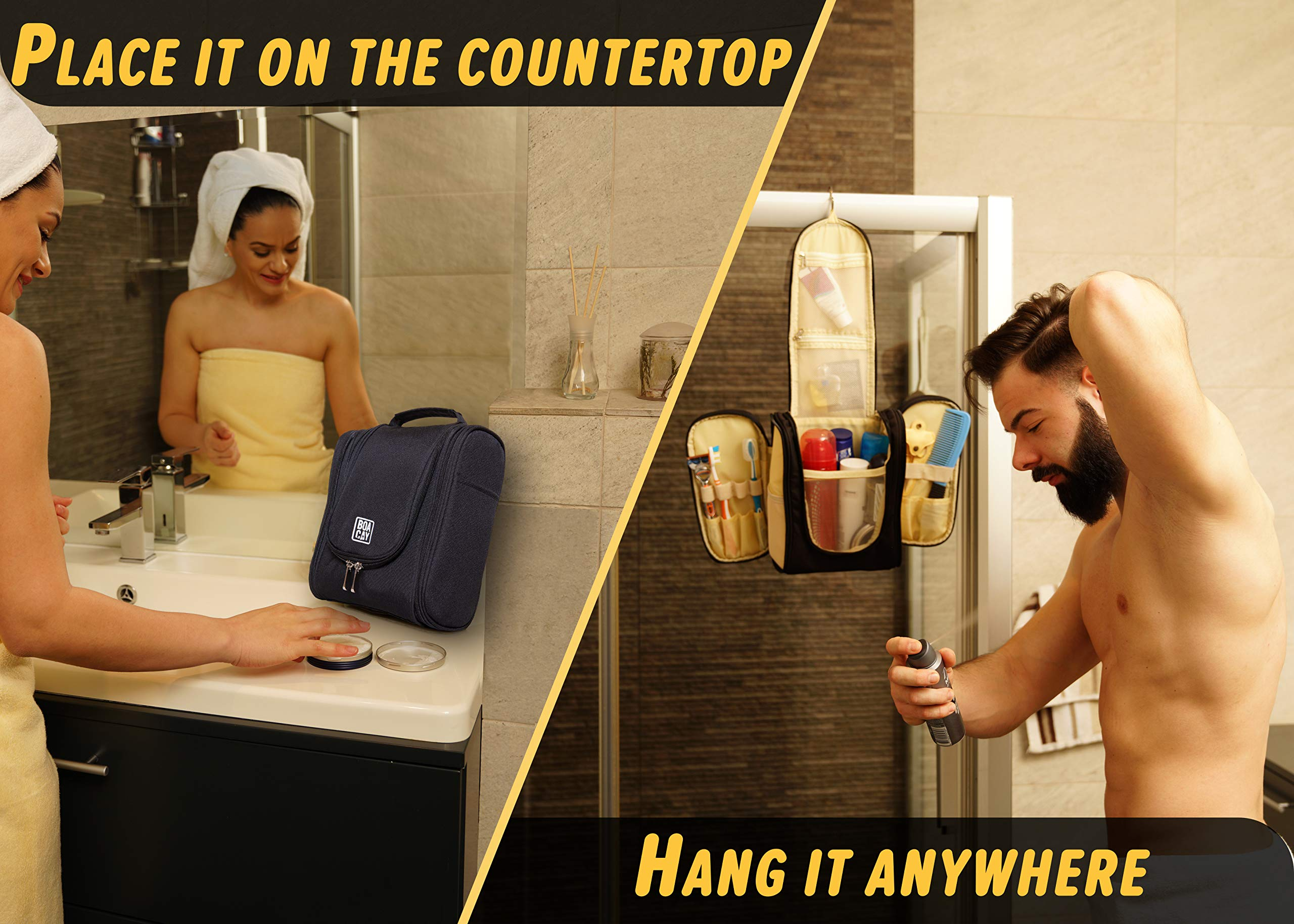 Premium-Hanging-Travel-Toiletry-Bag-for-Women-and-Men-Hygiene-Bag-Bathroom-and-Shower-Organizer-Kit-with-Elastic-Band-Holders-for-Toiletries-Cosmetics-Makeup-Brushes