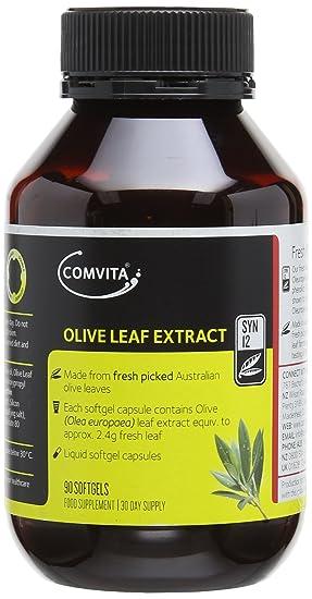 Comvita Olive Leaf Complex Capsules Pack of 90