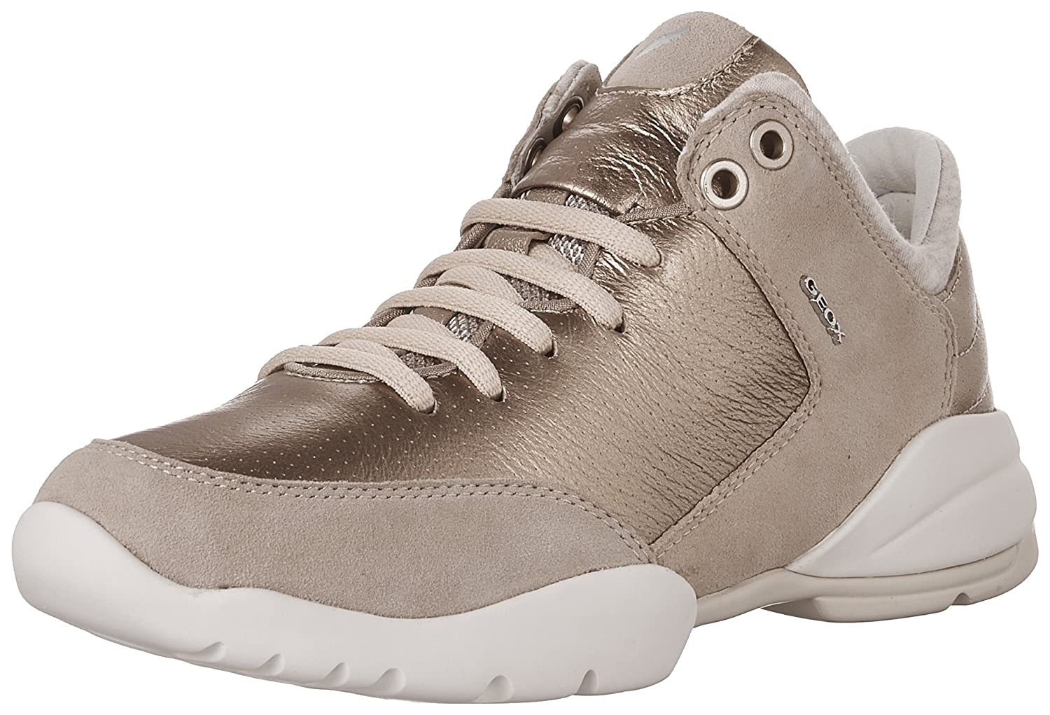 Champagner Geox D Sfinge A, Hauszapatos para mujer