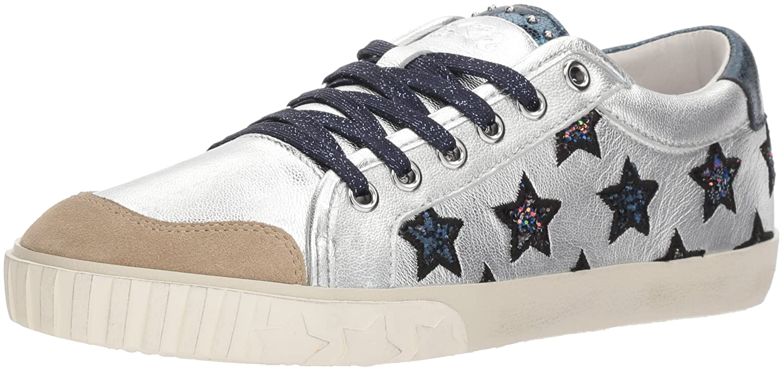 Ash Women's As-Majestic Sneaker B075753HDS 35 M EU (5 US) Seta/Silver/Midnight
