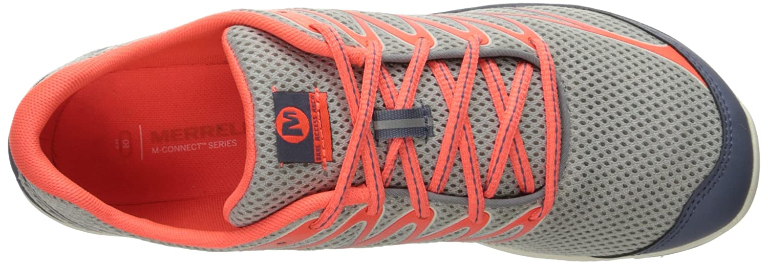 Merrell Women's Bare Access Shoe Arc 4 Trail Running Shoe Access B01HHAFTAQ 8.5 B(M) US|Sleet/Vibrant Coral 5e4481