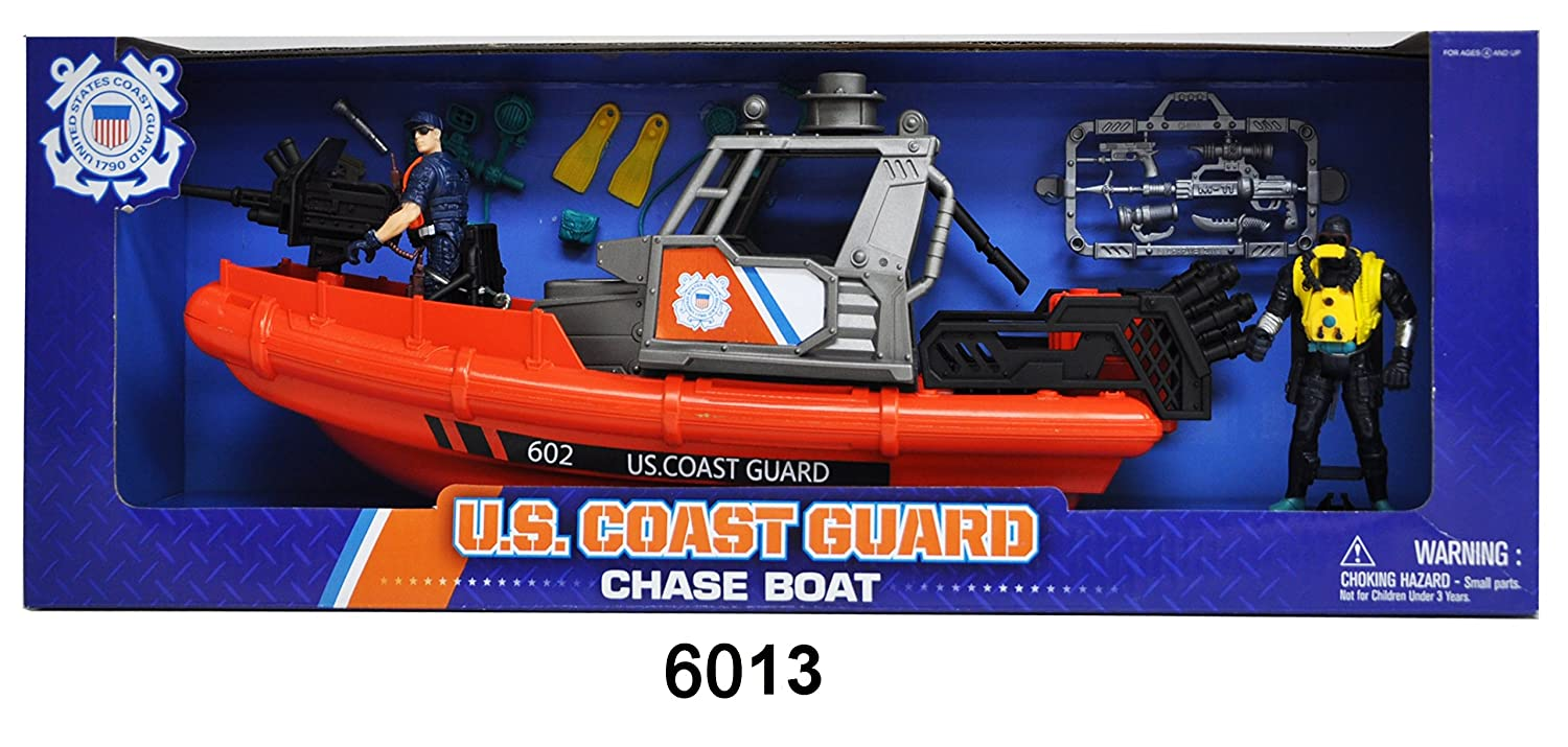 Amazon united states coast guard rescue boat playset toys games fandeluxe Gallery