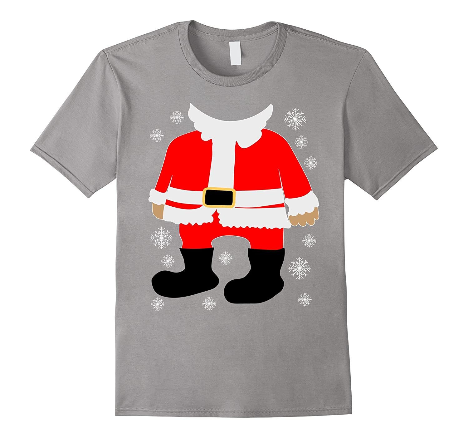 Santa Body T-Shirt-ANZ