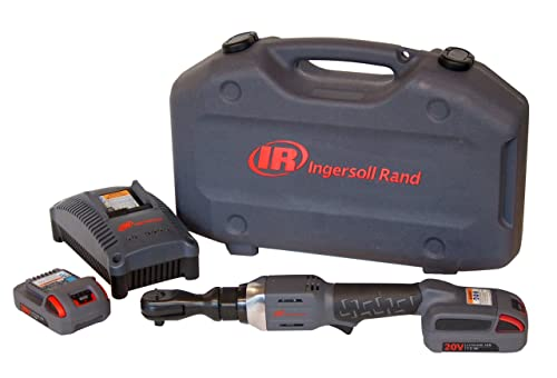 Ingersoll Rand R3150-K2 1 2-Inch Cordless Ratchet, 2 Li-on Batteries, Charger and Case