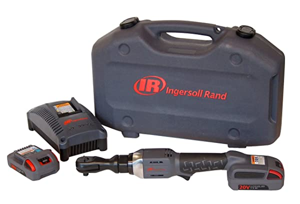 Ingersoll Rand R3150-K2 1/2-Inch Cordless Ratchet, 2 Li-on Batteries, Charger and Case