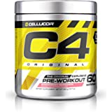 C4 Original Explosive Pre-Workout Supplement, Strawberry Margarita, 12.7 Ounce